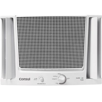 Ar condicionado janela 7500 BTUs h Consul frio com filtro fácil de limpar 110V