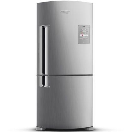 Refrigerador Brastemp Inverse BRE80AKANA Frost Free 573 Litros Inox