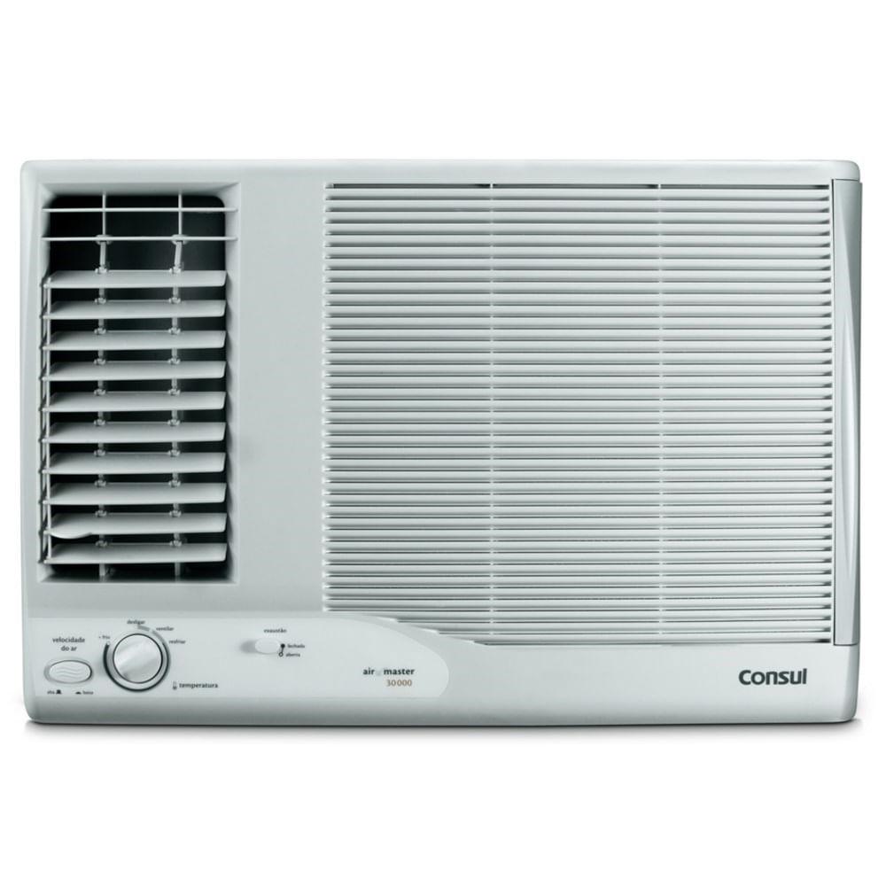 Oferta ➤ Ar condicionado janela 21000 BTUs/h Consul frio com filtro antipoeira – Outlet – 220V   . Veja essa promoção
