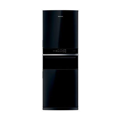 Geladeira/refrigerador 419 Litros 3 Portas Preto Control Pro - Brastemp - 220v - Bry59aebna