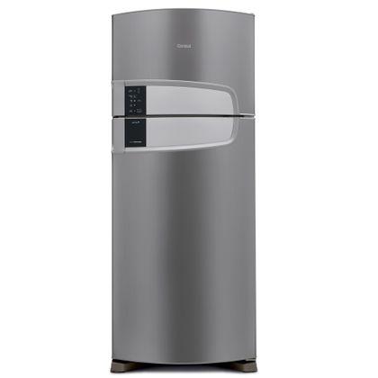 Menor preço em Geladeira Consul Frost Free Duplex 405 litros cor Inox com Filtro Bem Estar - CRM51AK