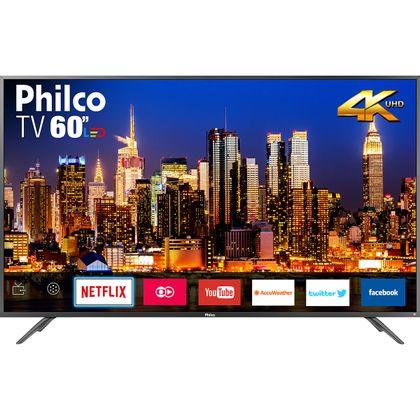 "Tv 60"" Led Philco 4k - Ultra Hd Smart - Ptv60f90dswns"