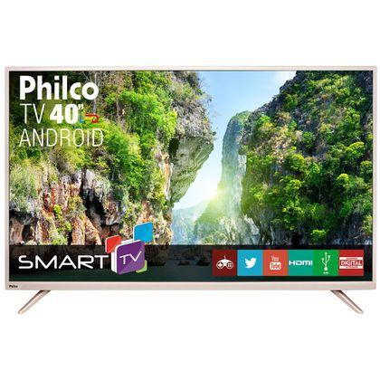 "TV Philco Led Android 40"" PH40F10DSGWAC Bivolt"