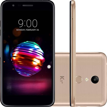 Smartphone LG K11 Plus 32GB - Dourado