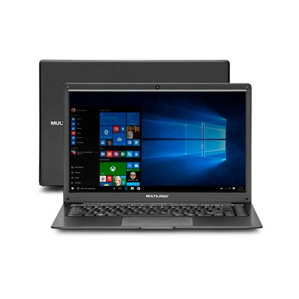 Notebook Multilaser Legacy Cloud AMD A4 2GB 32GB 14.1 Pol. HD Windows 10 Preto - PC150 PC150