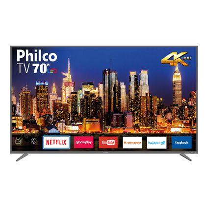 "Tv 70"" Led Philco 4k - Ultra Hd Smart - Ptv70q50snsg"