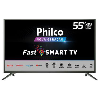 """Tv 55"""" Led Philco 4k - Ultra Hd Smart - Ptv55m60ssg"""