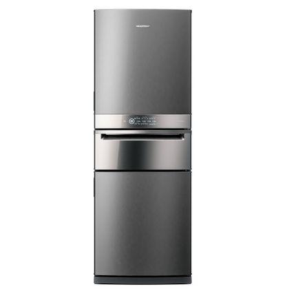 Geladeira/refrigerador 419 Litros 3 Portas Inox Control Pro - Brastemp - 220v - Bry59bkbna